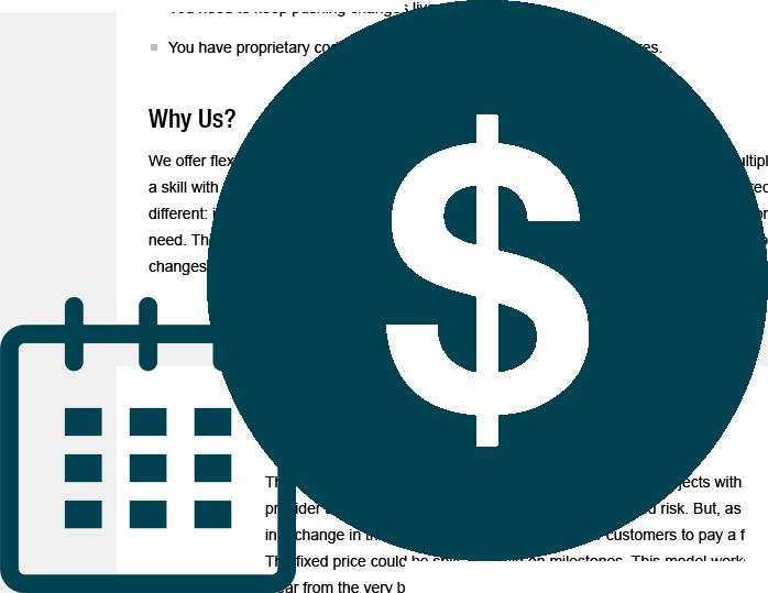 Fixed Cost Model
